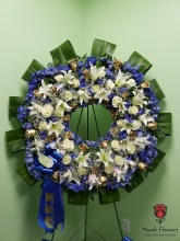 Circle Of Life Funeral Wreath
