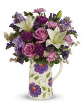 Garden Pitcher Bouquet