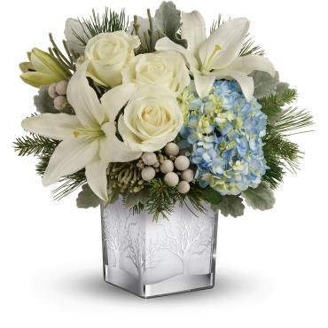 Silver Snow Bouquet