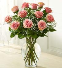 Rose Elegance™ Premium Long Stem Pink Roses
