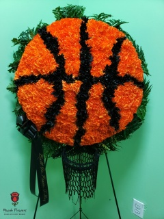 Sports Funeral Flowers