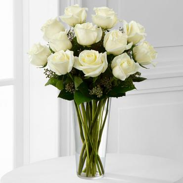 The White Rose Bouquet