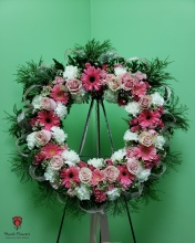 Rose Quartz Wreath