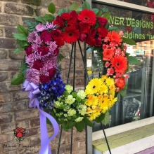 The Rainbow Wreath
