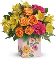 Painted Blossoms Bouquet